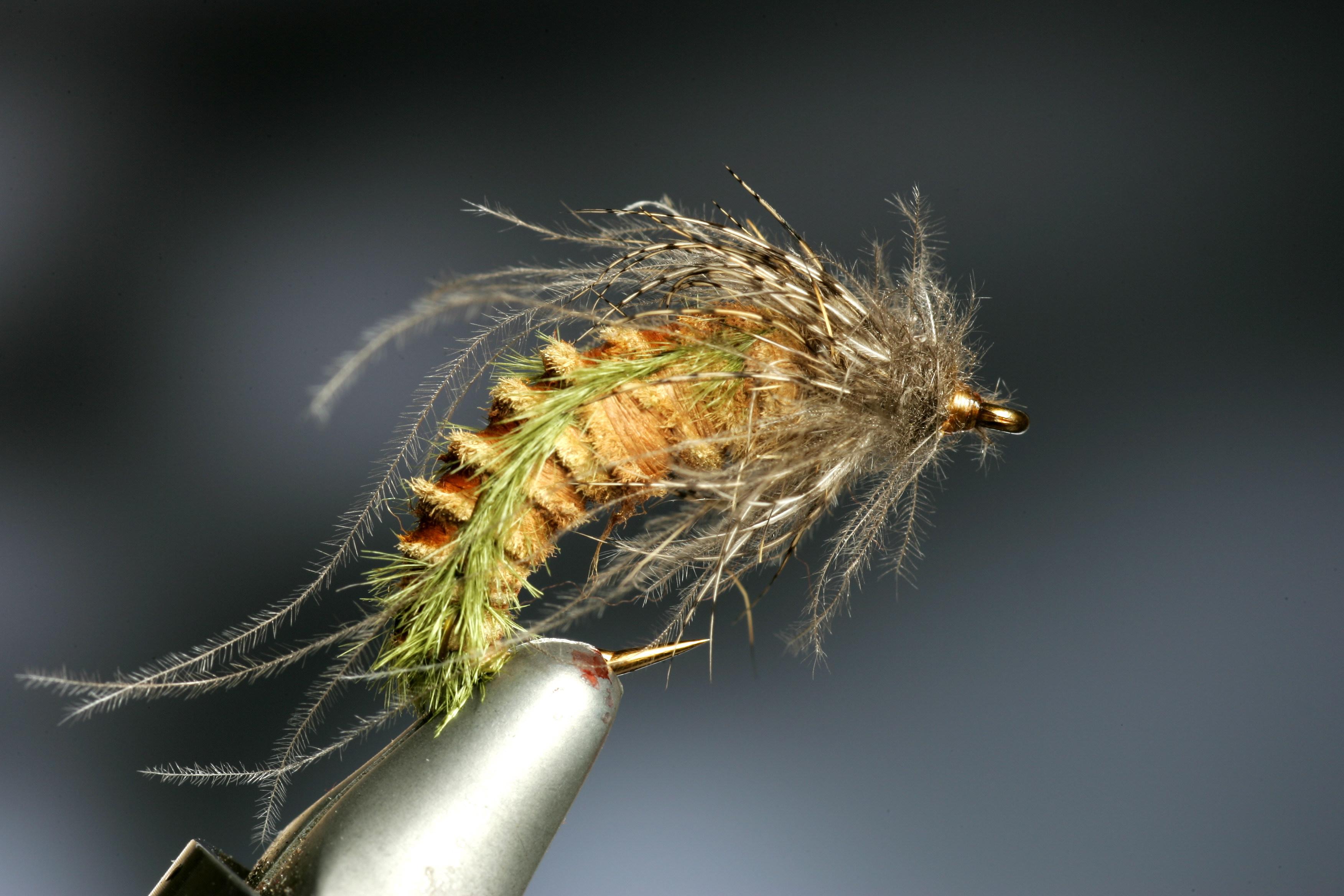 how to tie emerging caddis flies